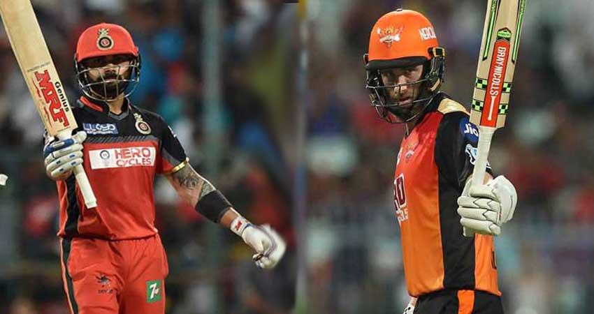 IPL-11: आज बैंगलोर के चैलेंज के लिए तैयार रहेगा हैदराबाद
