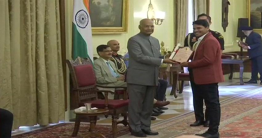 15 कलाकारों को राष्ट्रपति रामनाथ कोविंद ने दिया ललित कला अकादमी पुरस्कार