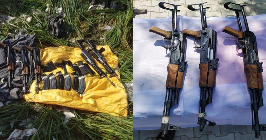 पंजाबः BSF को मिली बड़ी कामयाबी, पाकिस्तान से लगी सीमा पर हथियारों का बड़ा जखीरा बरामद