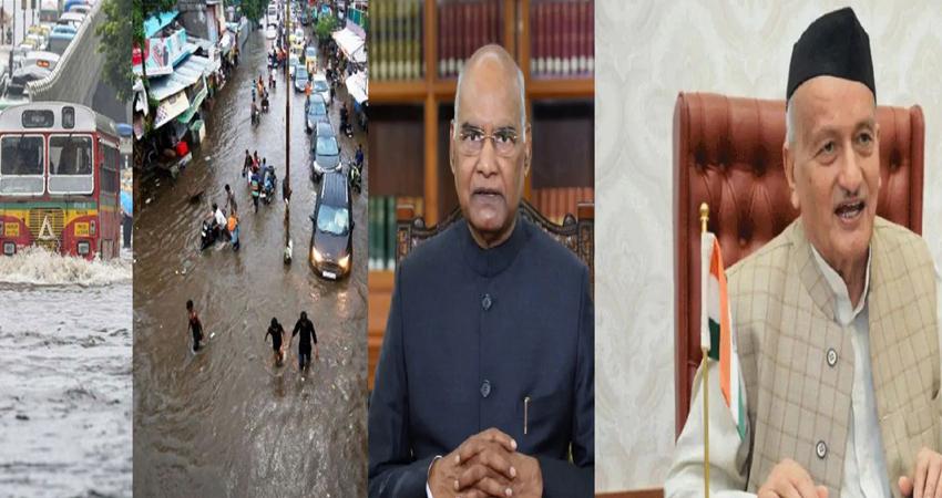 बारिश और बाढ़ से महाराष्ट्र बेहाल, राष्ट्रपति कोविंद ने राज्यपाल से की बात