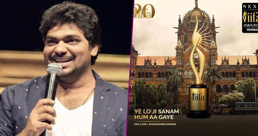 IIFA Awards 2019: ''जुम्मा चुम्मा'' गाना गाकर महफिल जमाते नजर आए कॉमेडियन जाकिर खान