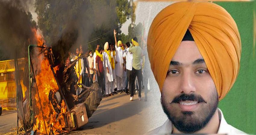 दिल्ली पुलिस के हिरासत में PYC के अध्यक्ष बरिंदर ढिल्लो, ट्रैक्टर जलाने का लगा है आरोप