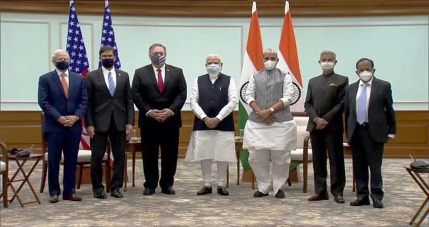माइक पॉम्पियो ने कहा- चीन के खिलाफ भारत के साथ खड़ा है अमेरिका, इन 5 समझौतों पर हुए हस्ताक्षर