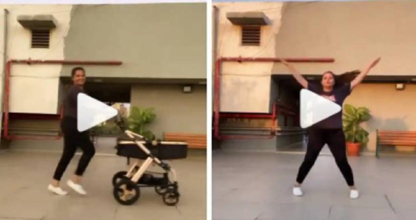 प्रेग्नेंसी के बाद अनीता हंसनदानी घर पर यूं घटा रहीं वजन, देखें उनका वर्कआउट Video