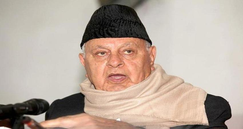 जम्मू-कश्मीर में फारूक अब्दुल्ला की रिहाई लोकतांत्रिक प्रक्रिया शुरू करने की दिशा में कदम