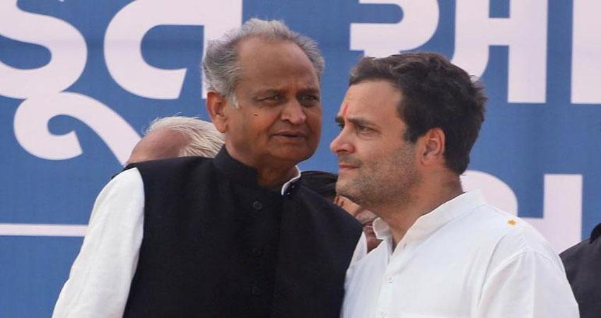 राहुल को मनाने की नाकाम कोशिश के बाद, इस्तीफे को लेकर यह बोले गहलोत