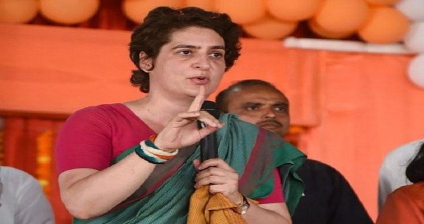 प्रियंका ने UP की खराब काननू व्यवस्था को लेकर साधा निशाना, पुलिस ने दिया यह जवाब