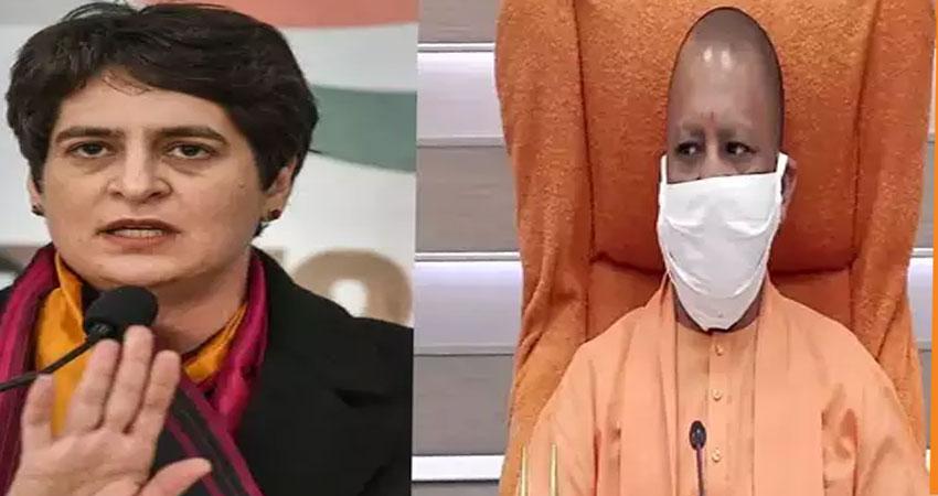 प्रियंका गांधी ने CM योगी पर साधा निशाना, पूछा- मुख्यमंत्री बताएं कितना सफल हुआ ''मिशन शक्ति''
