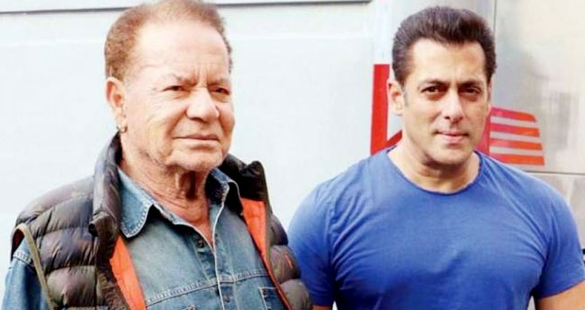 पूरे 2 महीनों बाद सलमान खान ने किया अपने पिता सलीम खान का दीदार, पहुंचें बांद्रा