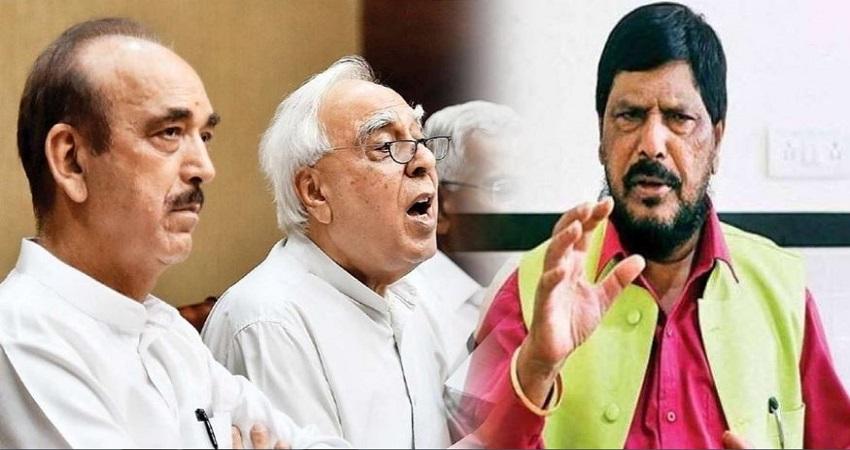 अठावले ने दी आजाद और सिब्बल को BJP में आने की सलाह, क्योंकि जल्द ही....