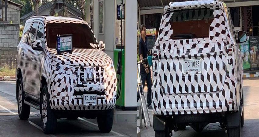 Toyota: टेस्टिंग के दौरान दिखी Fortuner Facelift, इस साल हो सकती है लॉन्च