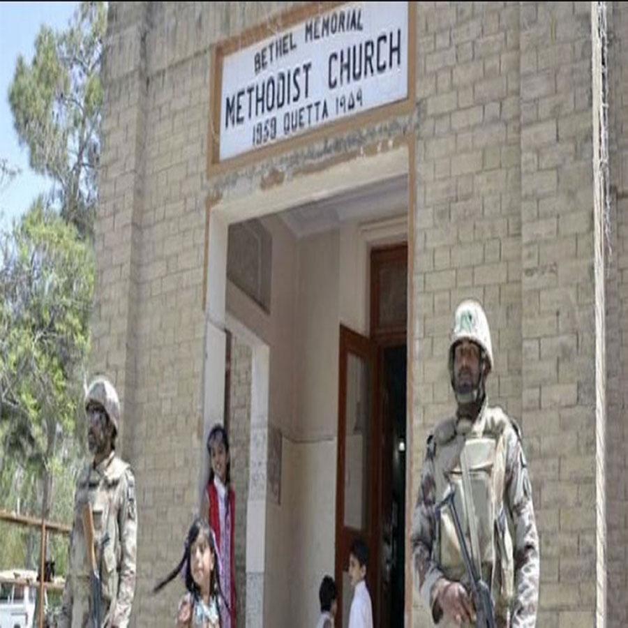 आत्मघाती हमले से दहला पाक का क्वेटा शहर: चर्च के बाहर धमाके में 8 लोगों की मौत ,कई घायल