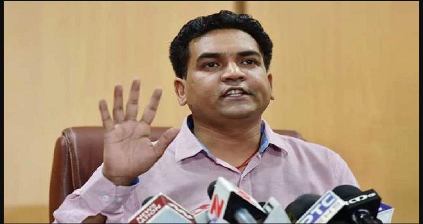 BJP नेता कपिल मिश्रा ने दिल्ली के स्वास्थ्य मंत्री सत्येंद्र जैन से इस मामले को लेकर मांगी माफी