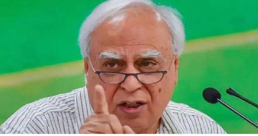 कांग्रेस नेतृत्व पर बरसे कपिल सिब्बल, कहा- सिंधिया की तरह प्रसाद का पार्टी छोड़ना दुर्भाग्यपूर्ण