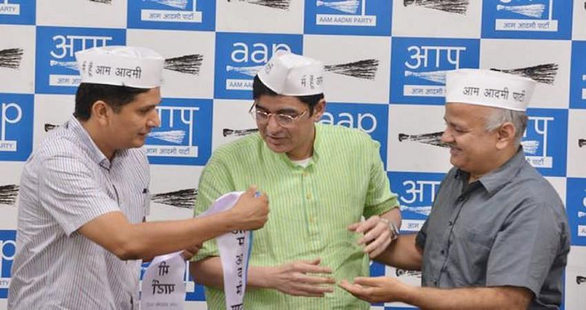 अजोय कुमार ने छोड़ा AAP का साथ, फिर थामा कांग्रेस का हाथ