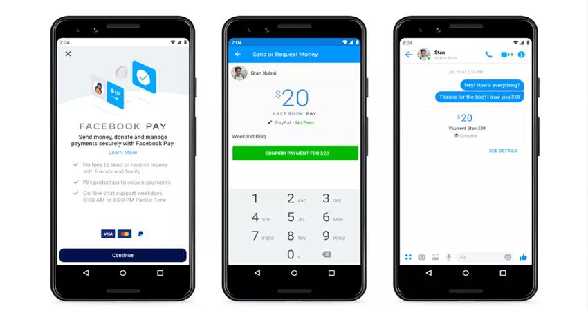 फेसबुक ने लॉन्च किया ''Facebook Pay'', WhatsApp, Messenger और Instagram से कर सकेंगे पेमेंट