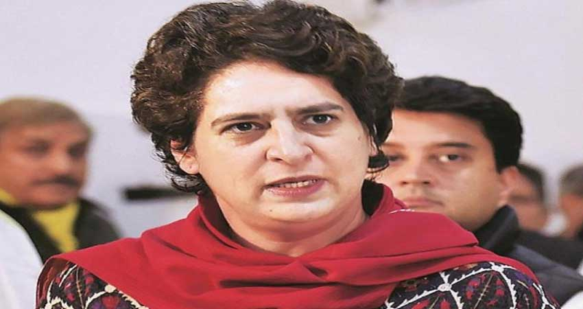 UP: प्रियंका गांधी ने साधा BJP पर निशाना, कहा- भाजपा राज में असुरक्षित हैं महिलाएं