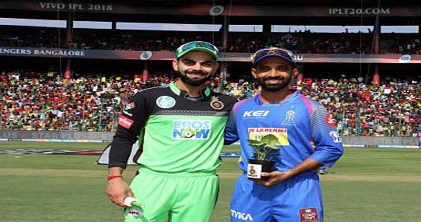 IPL-11: विशाल लक्ष्य के जवाब में नहीं चले बैंगलोर के बल्लेबाज,19 रन से मैच गवांया