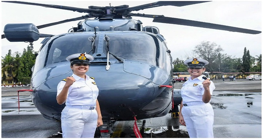 एतिहासिक दिन: भारतीय नौसेना में पहली बार युद्धपोत पर तैनात होंगी दो महिला अफसर