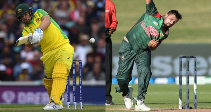 World Cup 2019 Live: ऑस्ट्रेलिया ने बांग्लादेश के सामने रखा 369 रनों का लक्ष्य