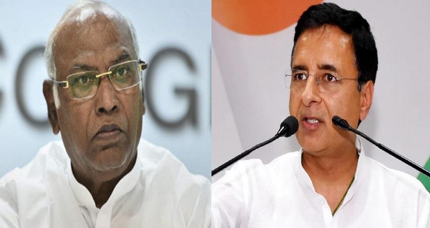 कांग्रेस में फेरबदल पर खड़गे का तंज, कहा- कर्नाटक के लिए सुरजेवाला एक अच्छा विकल्प