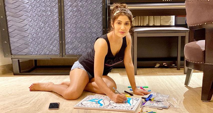 कुछ इस तरह लॉकडाउन पीरियड बिता रही हैं इशिता राज, सोशल मीडिया पर शेयर की Pic