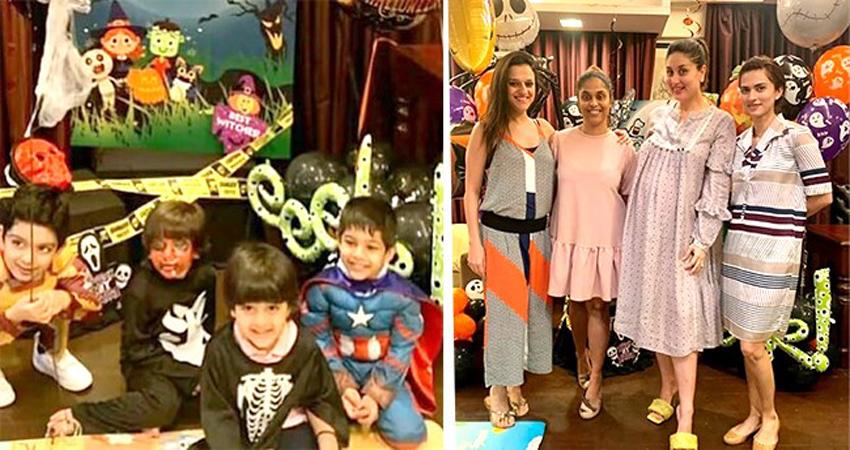 इस साल halloween पर स्टार किड्स का रहा बोलबाला, सबसे मजेदार है तैमूर का गेटअप