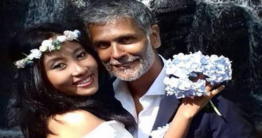 मिलिंद सोमन ने दोबारा की शादी, स्पेन की खूबसूरत लोकेशन से पति-पत्नी की Pics वायरल