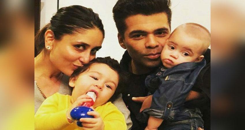 करण जौहर ने अभी से तय किया तैमूर और अपने बेटे यश का भविष्य