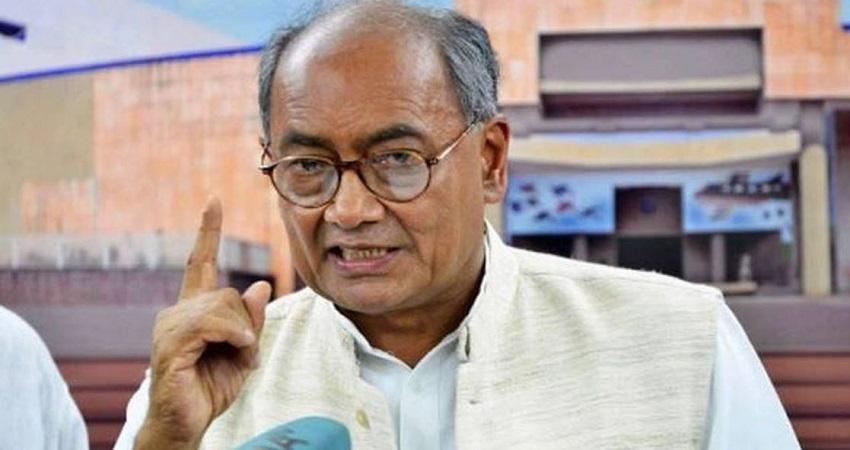 दिग्विजय सिंह ने दिया किसानों का साथ बोले- किसान आंदोलन को बदनाम करने के लिए BJP ने रची साजिश