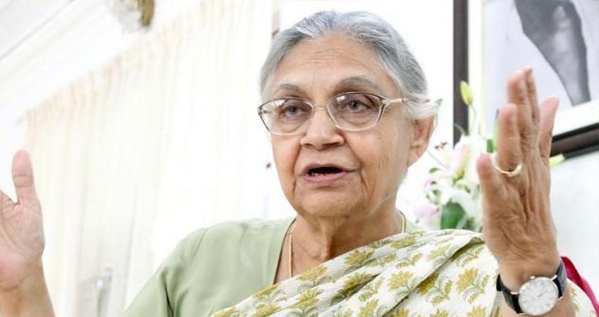 शीला दीक्षित के सम्मान में राजकीय शोक, केजरीवाल ने रद्द की वैष्णो देवी यात्रा