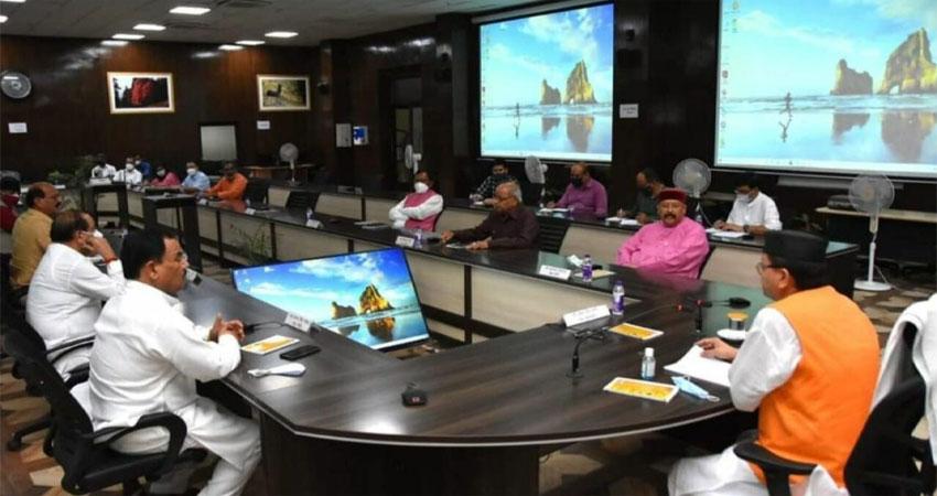 उत्तराखंड मंत्रिमंडल की पहली बैठकःएक्शन में दिखे CM धामी,किए कई फैसले