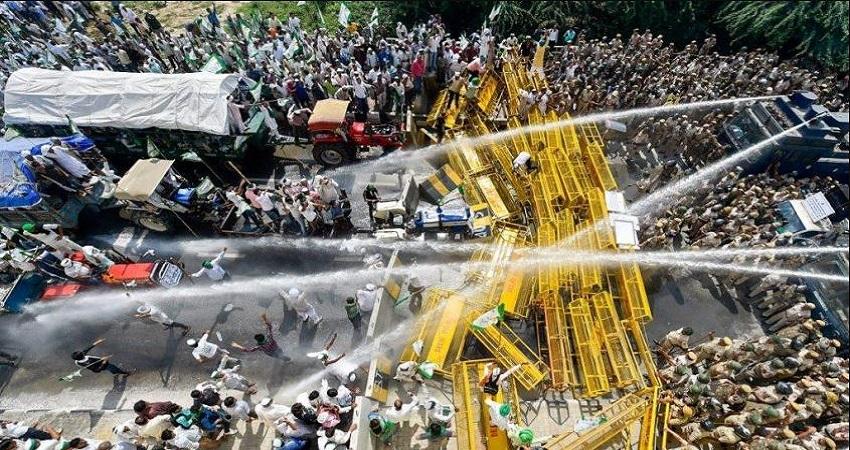 किसानों के ''दिल्ली चलो मार्च'' को मिल रहा है कांग्रेस का समर्थन, बोला सरकार पर हमला