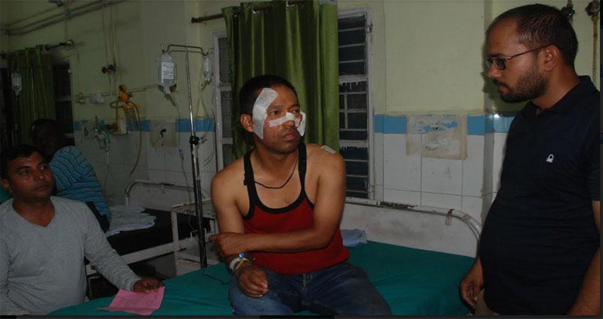श्रीनगर के मेडिकलकॉलेजमें घुसा गुलदार, हमले में तीन घायल