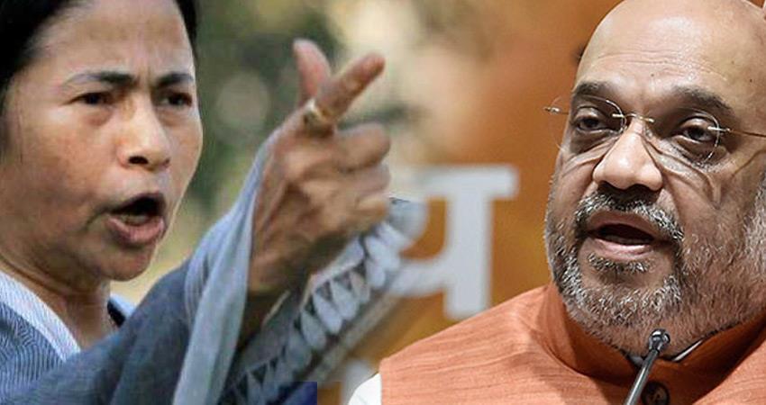 तृणमूल कांग्रेस ने कहा- कोरोना महामारी में भी वोटों की भूखी है BJP और शाह...