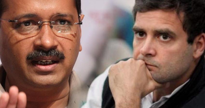 केजरीवाल ने हरियाणा में BJP को हराने के लिए राहुल गांधी से की अपील
