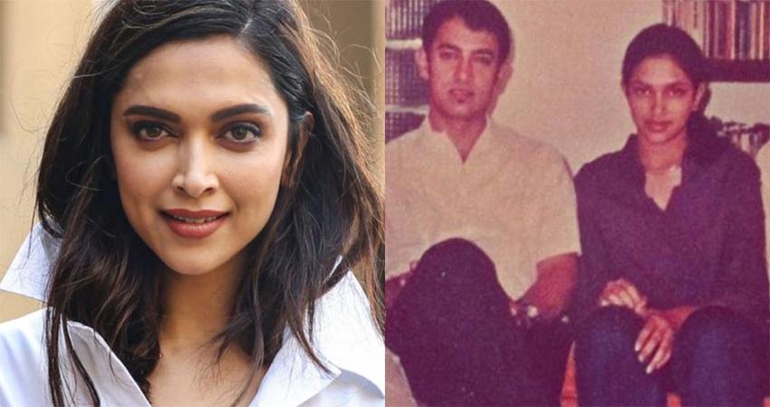चर्चा में है दीपिका-आमिर की ये सालों पुरानी तस्वीर, अभिनेत्री ने अब जाकर किया बड़ा खुलासा!