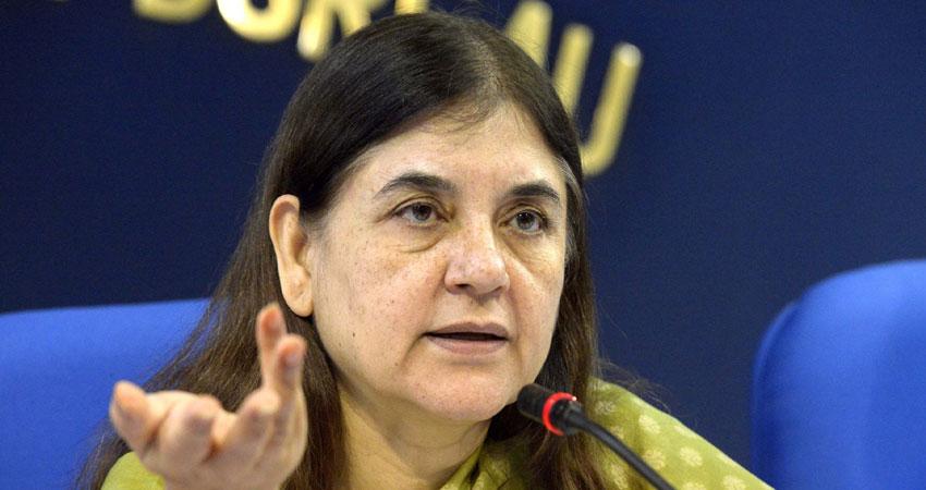 #MeToo: महिला सुरक्षा के लिए बोलीं मेनका गांधी- आंतरिक शिकायत समिति बनाए सभी पार्टियां