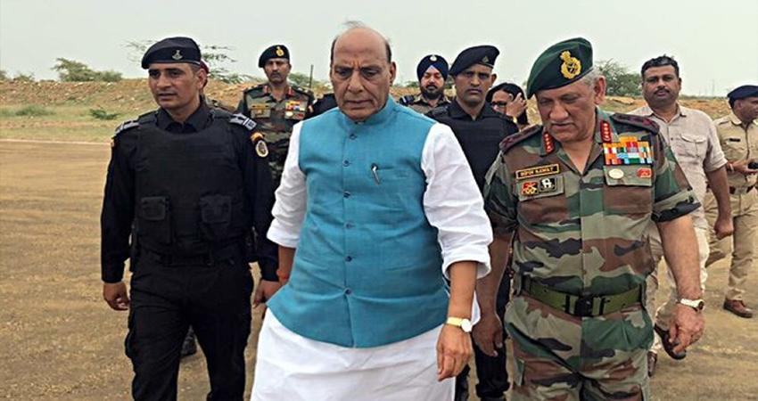 रक्षामंत्री ने दिए संकेत- सरकार बदल सकती है ''No First Use'' की न्यूक्लियर पॉलिसी