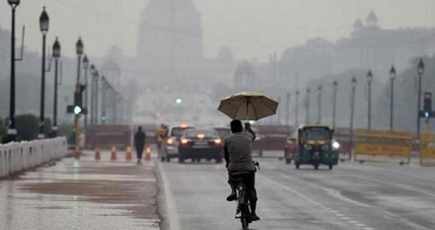 दिल्ली: मौसम ने ली करवट, बारिश की बढ़ी संभावना