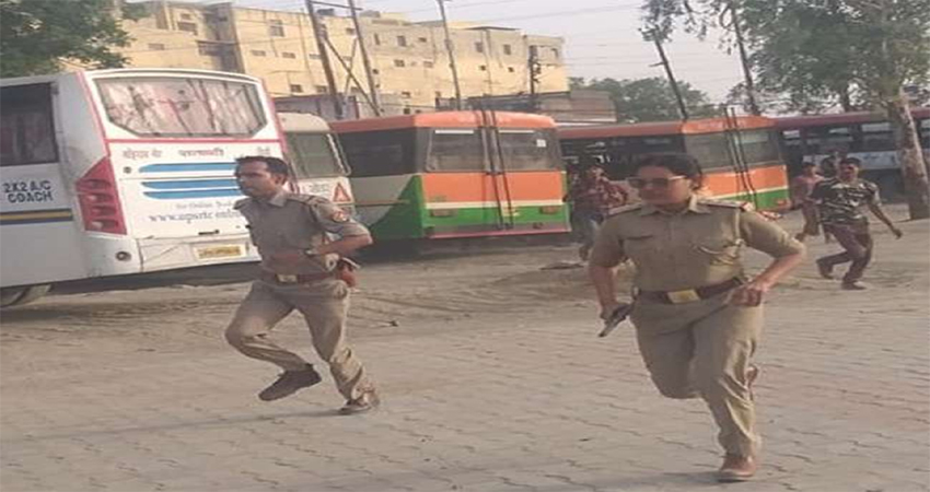 हिस्ट्रीशीटर का पीछा करते लेडी सिंघम को देखकर दंग रह गये लोग