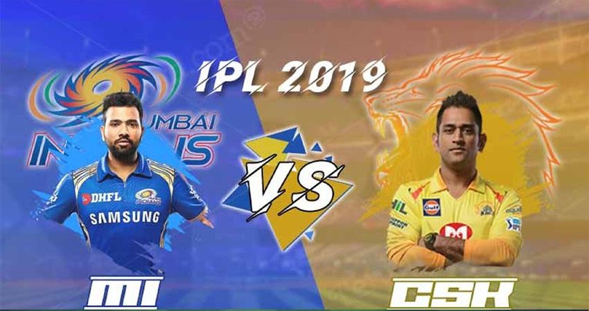 चेन्नई के खिलाफ आईपीएल फाइनल में मुंबई का पलड़ा भारी
