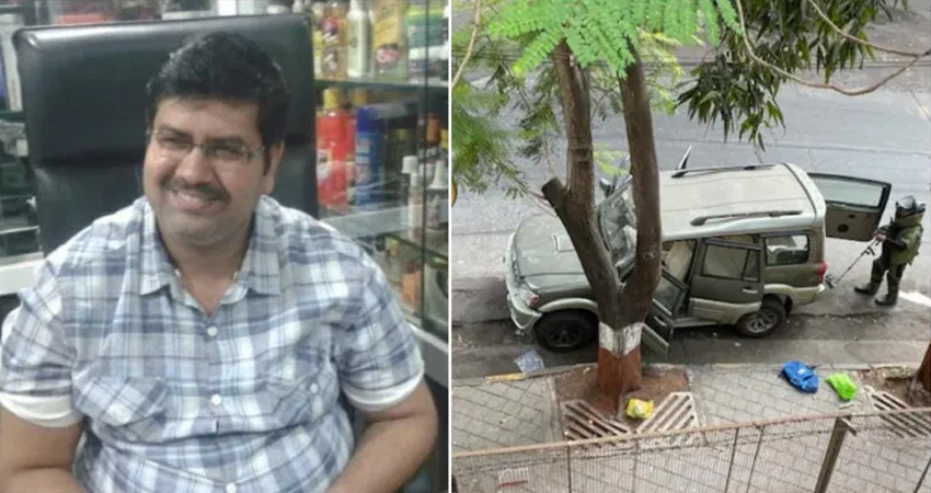 मनसुख हत्याकांड : महाराष्ट्र ATS ने जब्त की दमन से एक कार