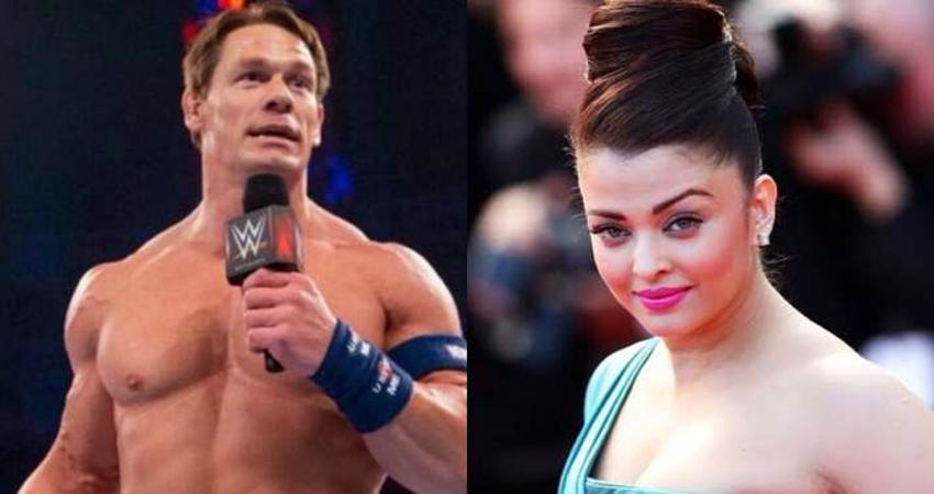 WWE स्टार John Cena ने ऐश्वर्या के लिए मांगी दुआएं, देखें यह खूबसूरत तस्वीर