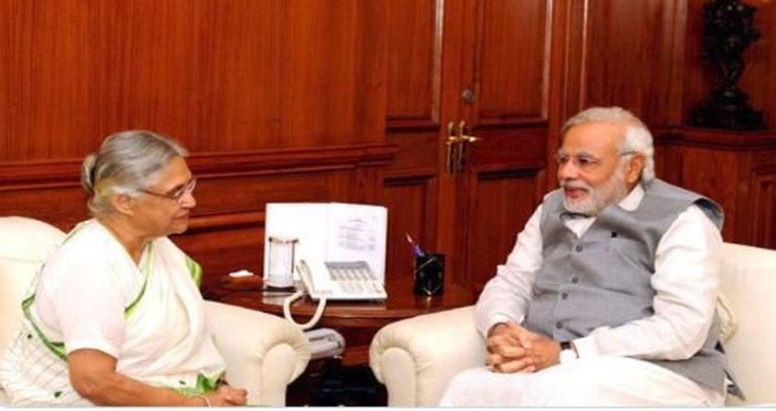 शीला दीक्षित के निधन पर PM मोदी समेत सभी दलों के दिग्गजों ने जताया शोक