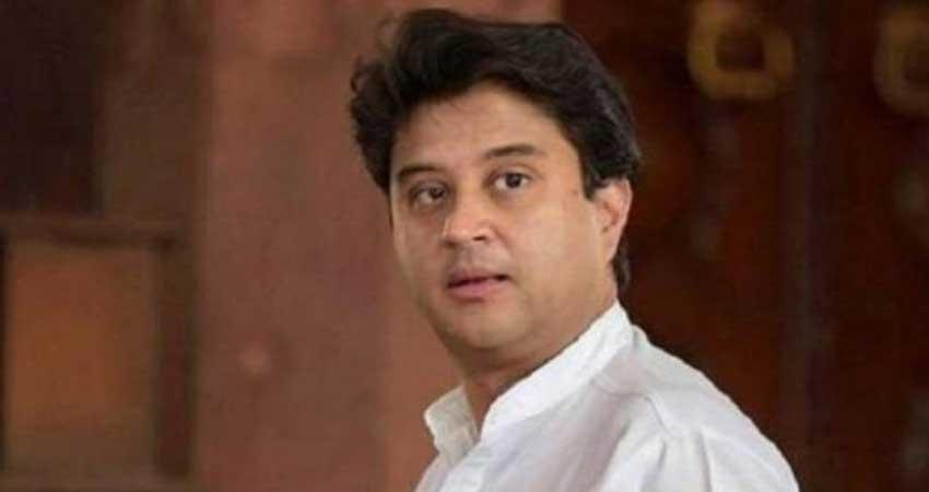 कांग्रेस में इस्तीफे का दौर जारी, ज्योतिरादित्य सिंधिया ने पार्टी महासचिव पद छोड़ा