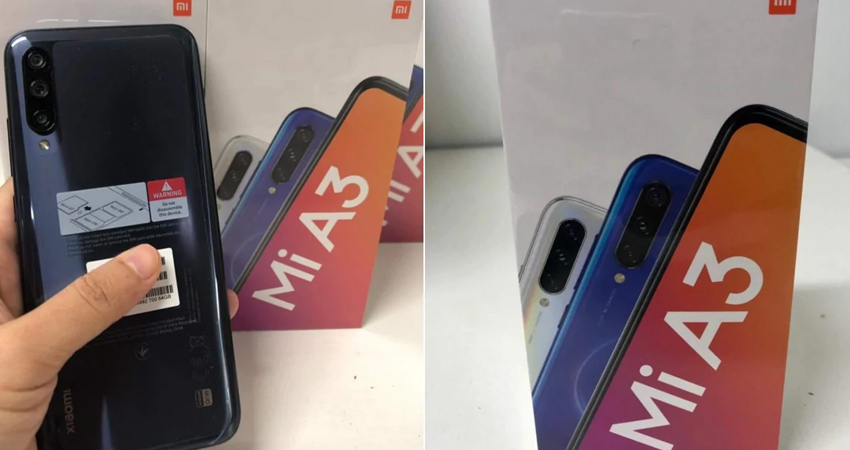 भारत में कल लॉन्च होगा Xiaomi Mi A3, लॉन्च से पहले फोटो हुई लीक
