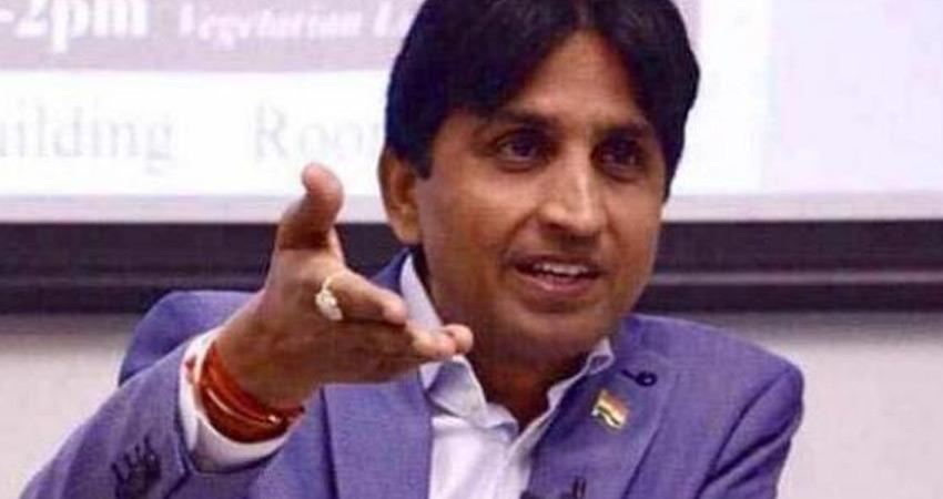 हाथरस कांड की पीड़िता पर भाजपा नेता की बयानबाजी, कुमार विश्वास ने लिया आड़े हाथ