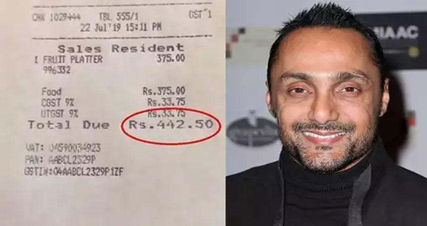 राहुल बोस की दो केलों के बिल वाली वीडियो देख चंढ़िगढ़ डिप्टी कमिश्नर ने होटल की जांच के दिए आदेश