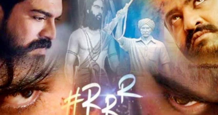 ''RRR'' के निर्माताओं ने सबसे प्रतीक्षित टाइटल लोगो और मोशन पोस्टर किया रिलीज!